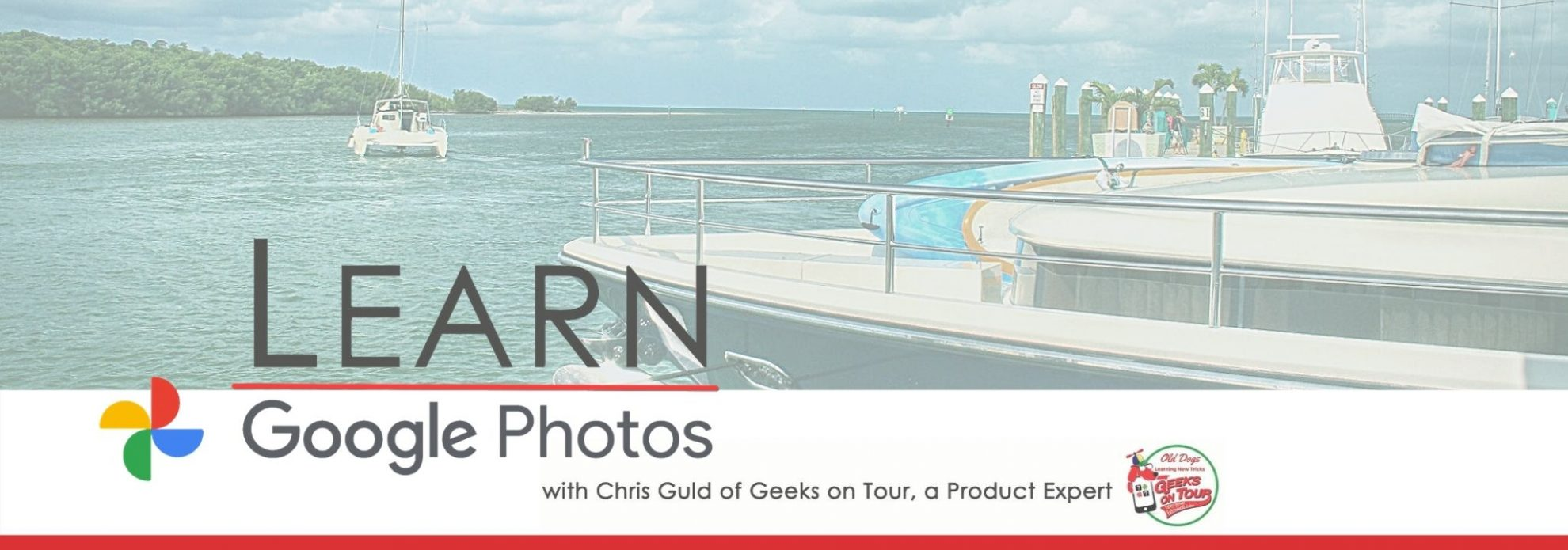Learn Google Photos 2020 with Google Product Expert Chris Guld