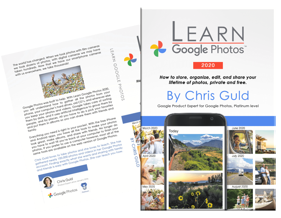 Learn Google Photos Book 2020 by Chris Guld